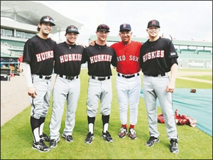 Northeastern Huskies Baseball