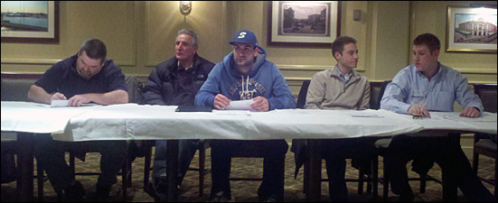 Yawkey League's Angelo Colucci and other managers