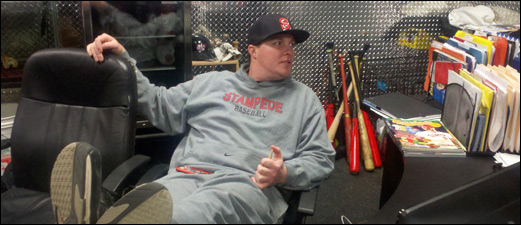 Jonathan Pollard at his Cage Facility in Woburn, MA