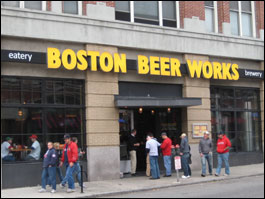 Boston Beer Works, Fenway